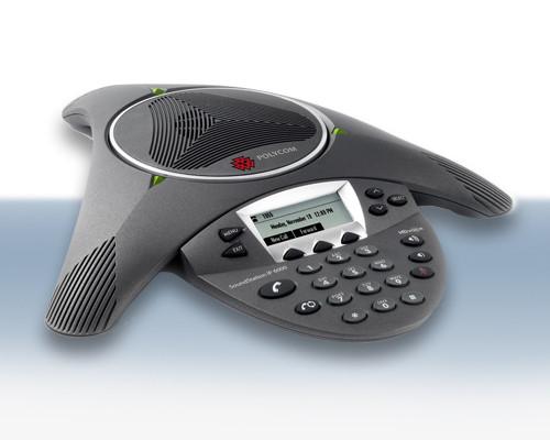 POLYCOM SOUNDSTATION IP 6000 PBX CONFERENCE PHONE DUBAI UAE