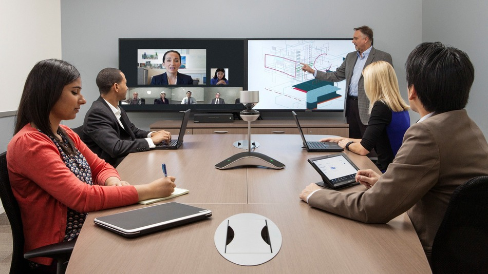 POLYCOM VIDEO CONFERENCING SYSTEM DUBAI UAE