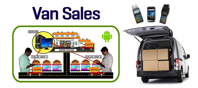 van sales management software system dubai uae