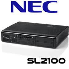 NEC SL2100 SYSTEM