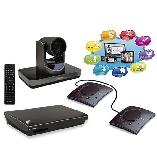 ClearOne video conferencing system